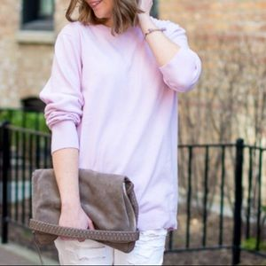 Banana Republic pink wool sweater